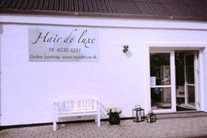 Salon hair de luxe udvendigt