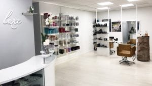 salon hair de luxe opfriskning indefra