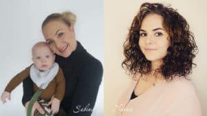 billede af piger og baby